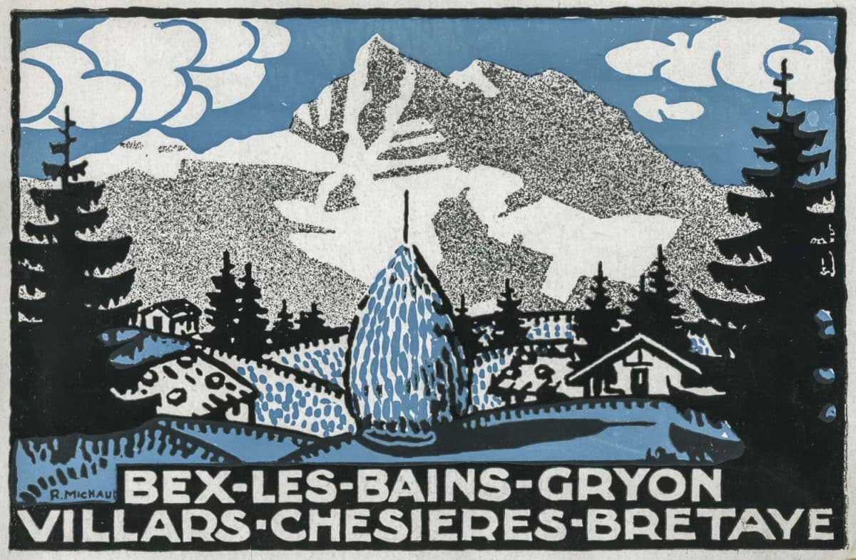 Bex-les-Bains-Gryon-Villars-Chesières-Bretaye