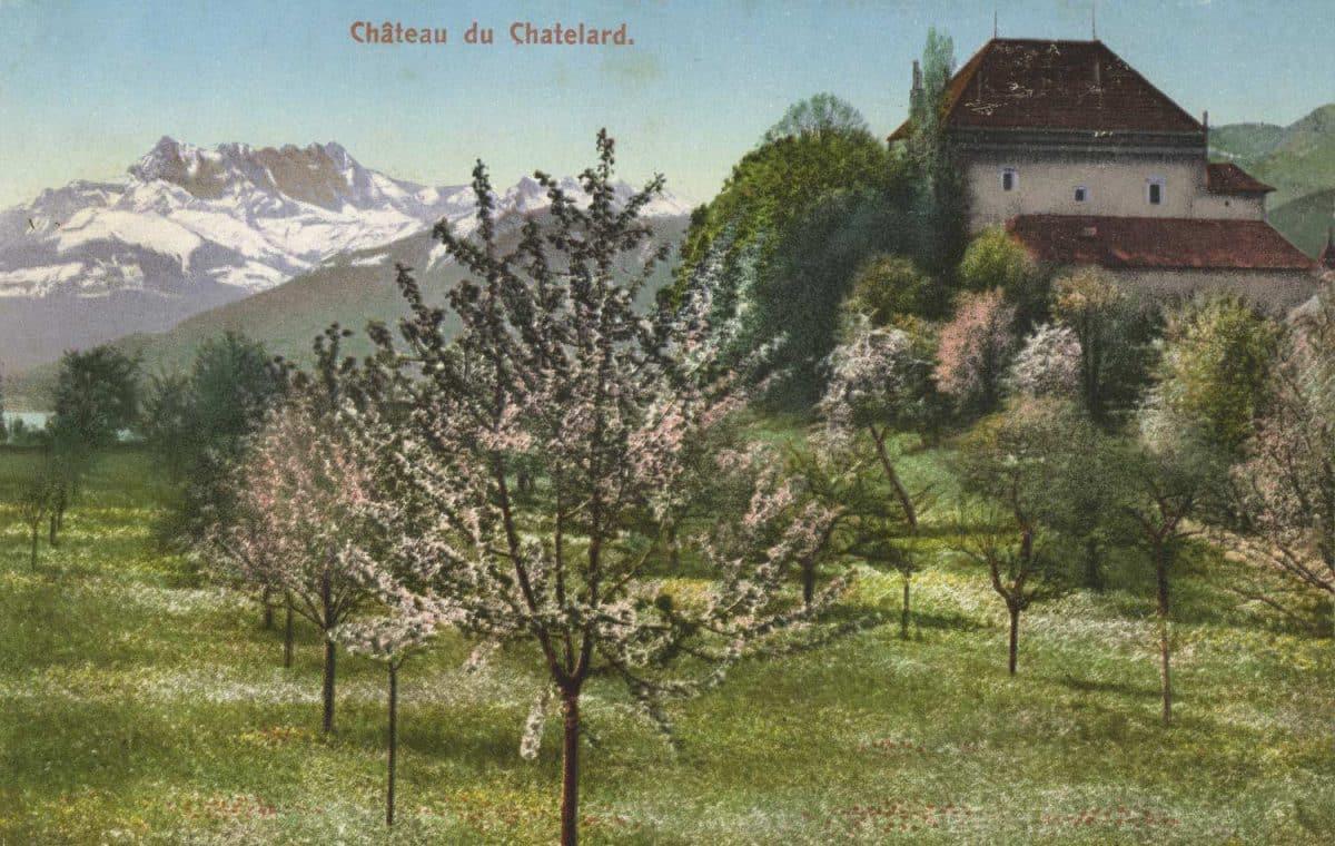 Château du Châtelard © E. Rossier, Nyon