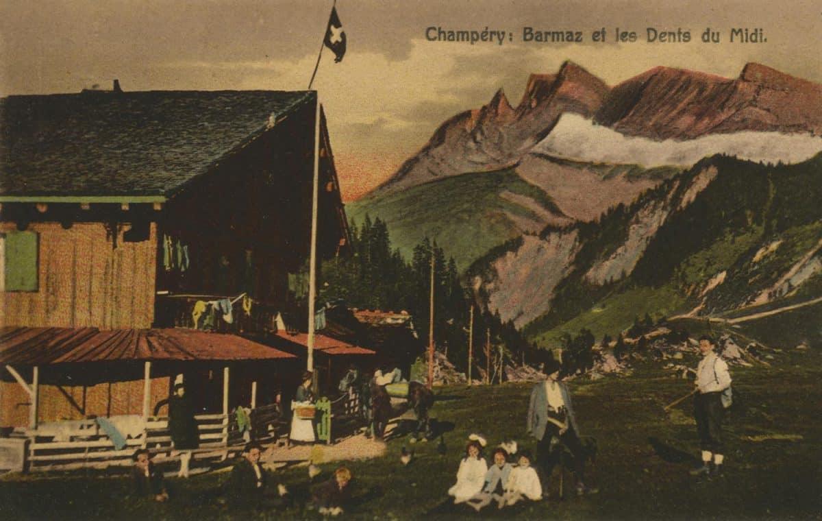 Champéry: Barmaz et les Dents du Midi © Ch. Montangero Editeur, Champéry
