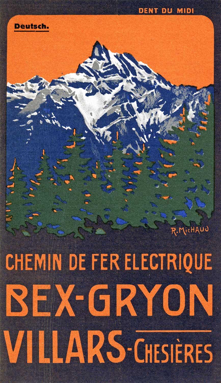 Chemin de fer Bex-Gryon-Villars