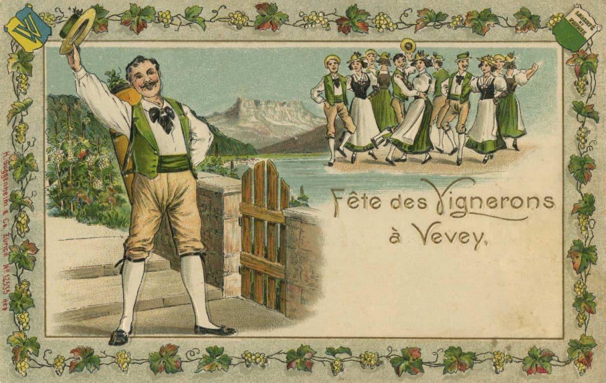 Fête des Vignerons à Vevey © H. Guggenheim & Co., Zürich