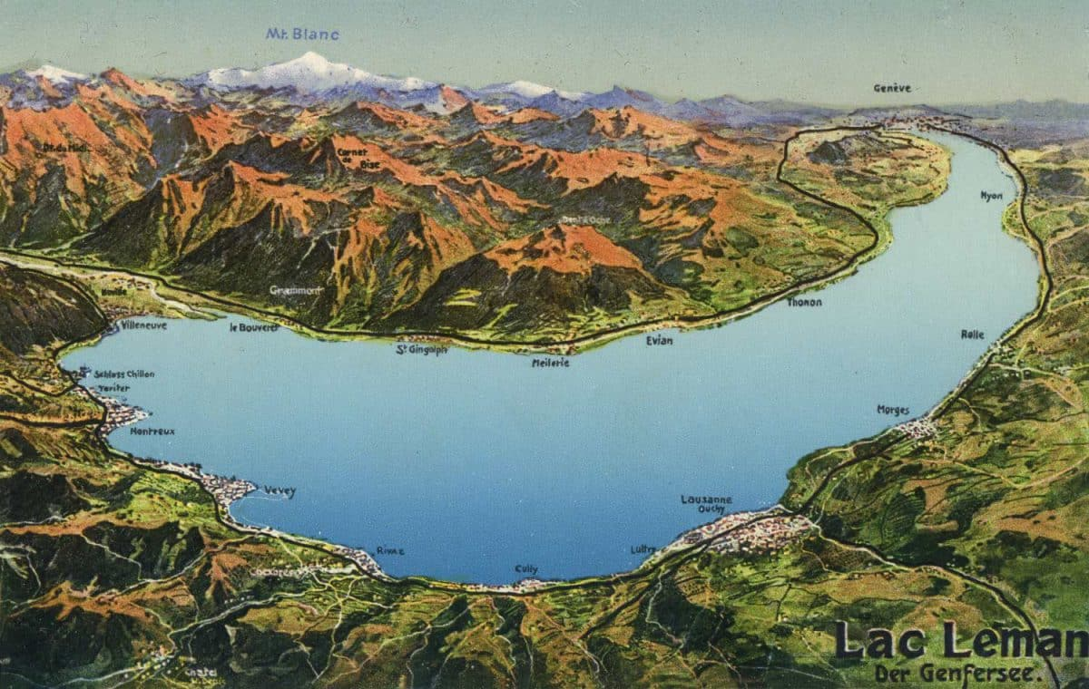 Lac Léman, der Genfersee