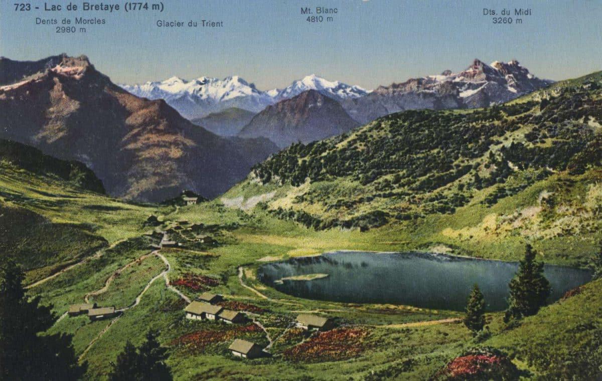 Lac de Bretaye (1774m) © Société Graphique Neuchâtel