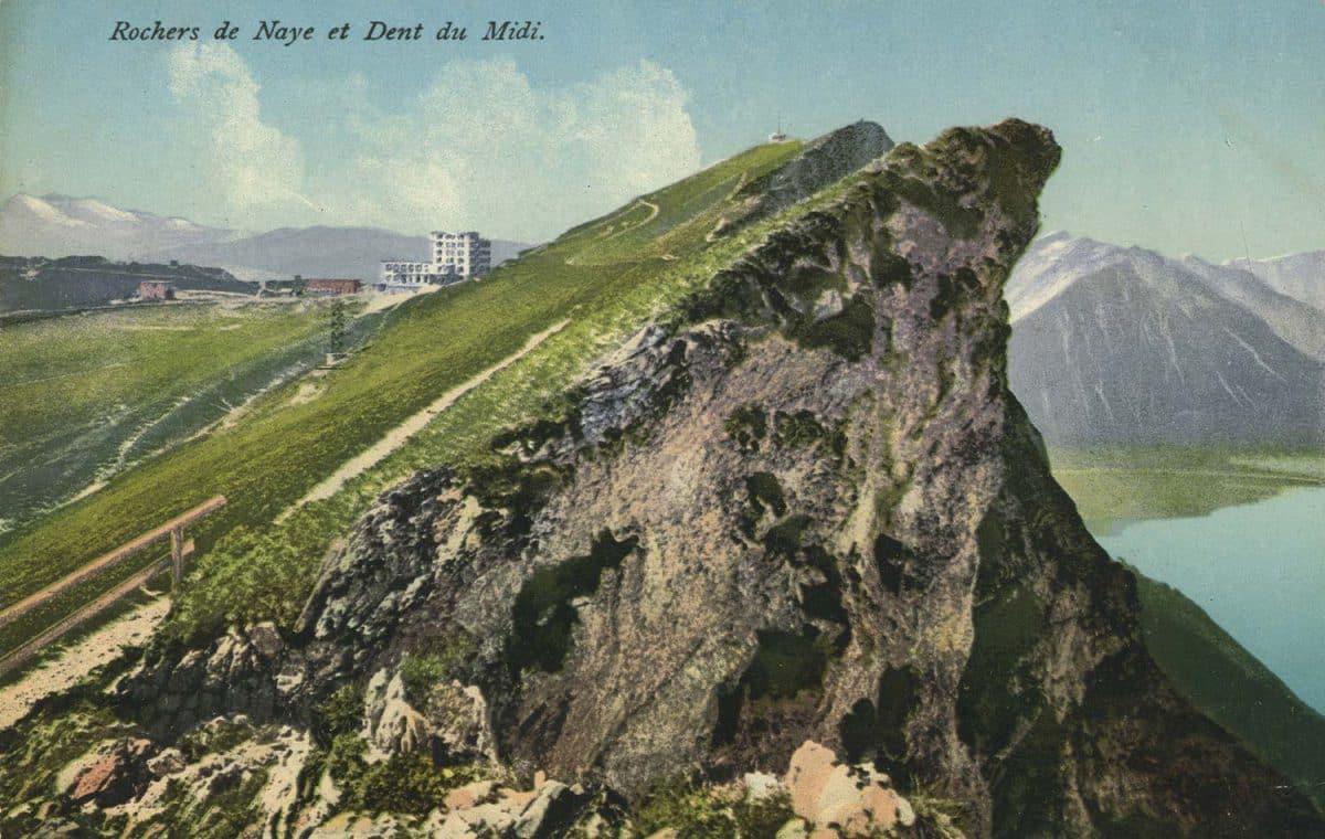Rochers de Naye et Dent du Midi © E.R.N.