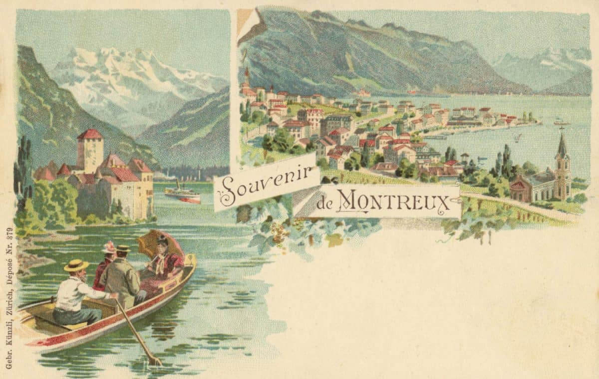Souvenir de Montreux © Gebr. Künzli, Zürich
