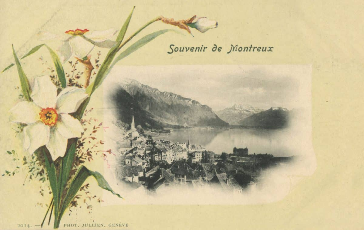 Souvenir de Montreux © Phot. Jullien, Genève