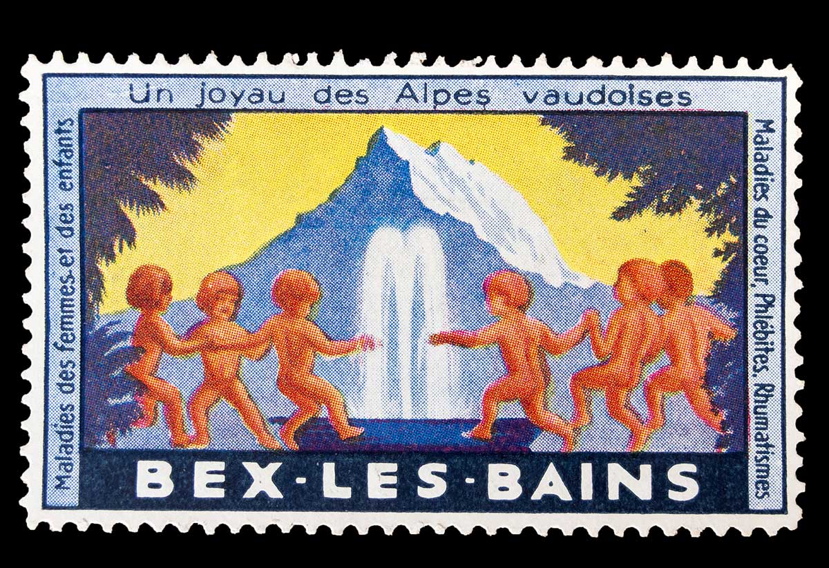 Un joyau des Alpes vaudoises, Bex-les-Bains