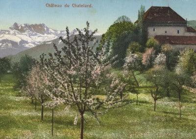Château du Châtelard, © E. Rossier, Nyon
