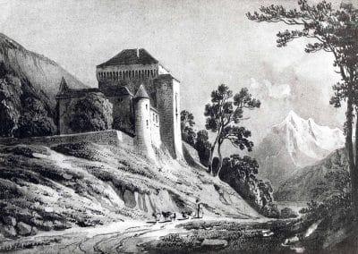Le Châtelard. Album de la Suisse romane. C. Guigon, imp. Ch. Gruaz à Genève