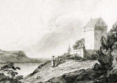 Château-de-Clarens-1792. Imprimé par Sir Charles Lyell