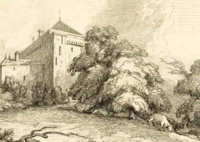 Château-de-Clarens-sur-le-lac-de-Genève, 1810 - 1840. Imprimé par Mary Turner