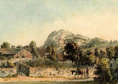 Clarens 1786 - 1818. Imprimé par Heinrich Rieter
