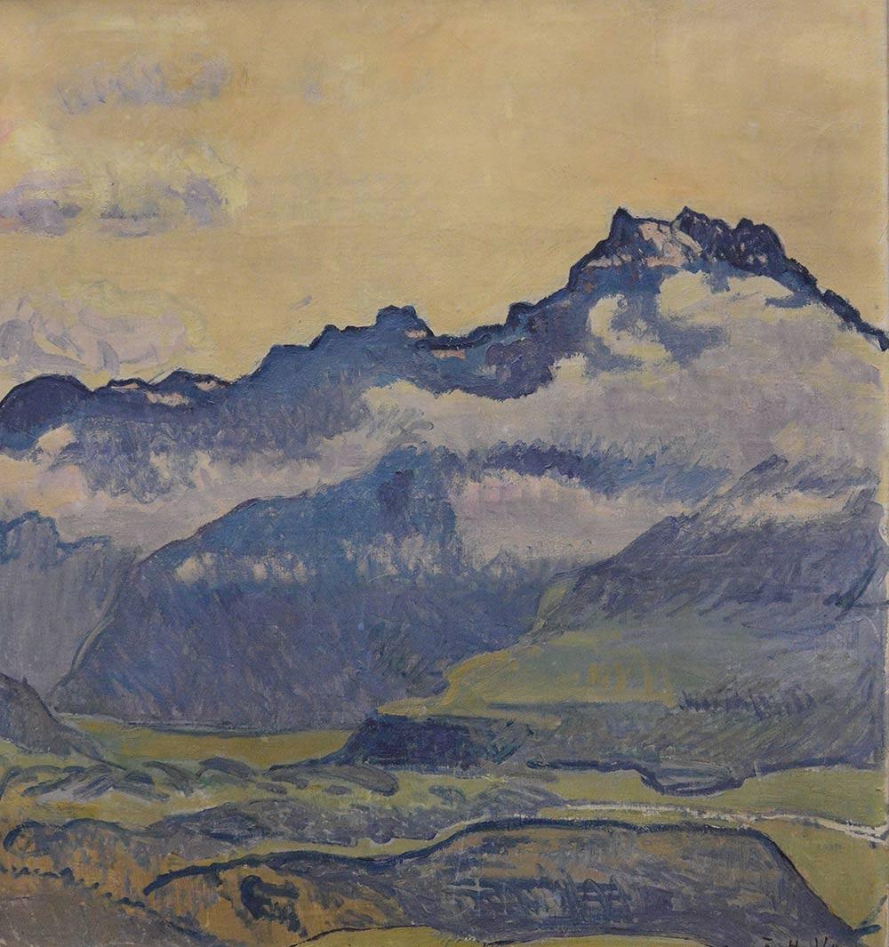 """""""Dents du Midi"""", 1912. Collection privée"""