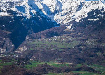 Une élévation de 2755 mètres entre le village de Bex et le sommet de la Cime-de-l'Est