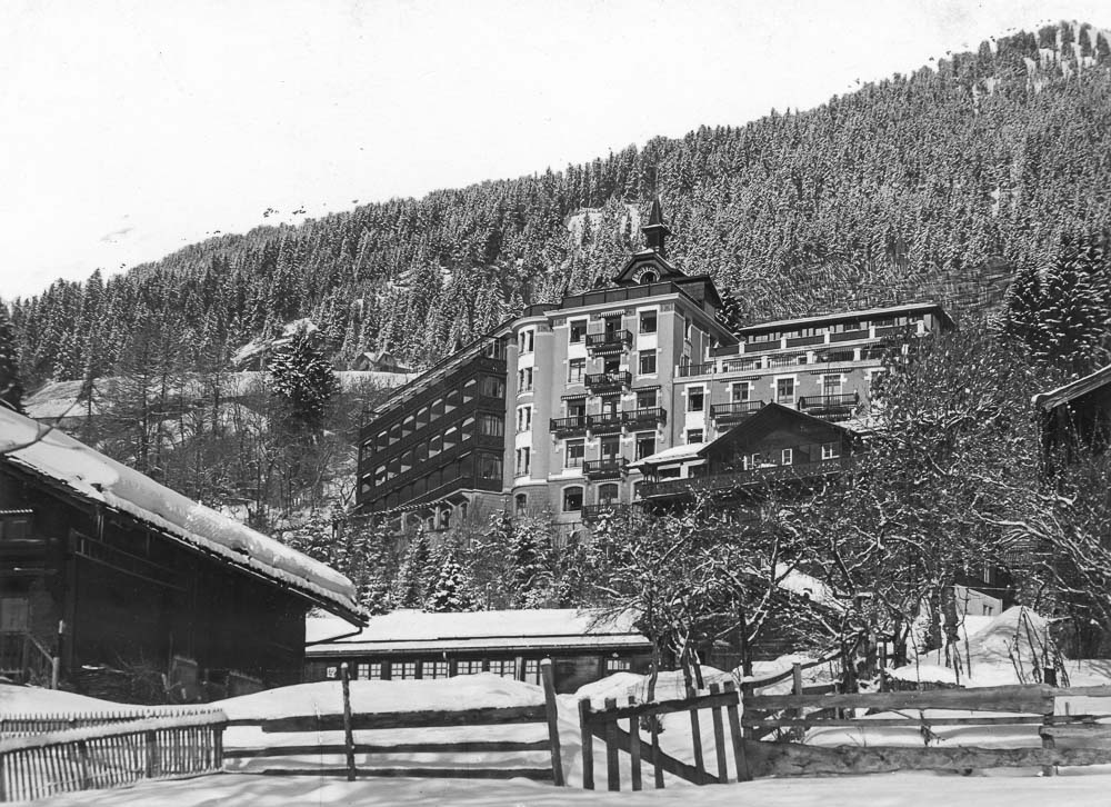 Fonds Auguste Rollier, Commune de Leysin