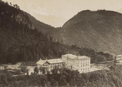 Le Grand-Hôtel d'Aigle vers 1880