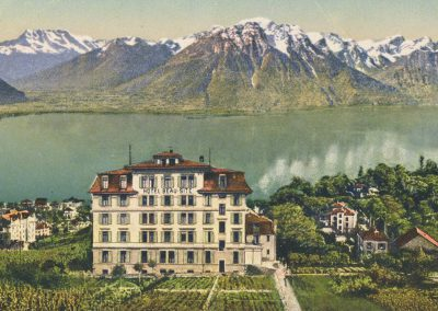 Hôtel Beau-Site, Baugy, Clarens-Montreux. © Paul Bender, Zollikon, Zürich