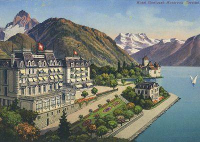 Hôtel Bonivard Montreux Territet