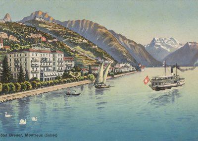 Hôtel Breuer, Montreux (Suisse)