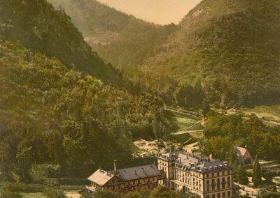 Grand Hôtel d'Aigle-les-Bains. © Photoglob-Zürich
