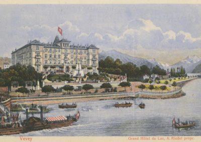 Vevey. Grand Hôtel du Lac, A. Riedel propriétaire