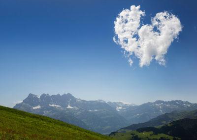 Un coeur dans le ciel des Dents-du-Midi