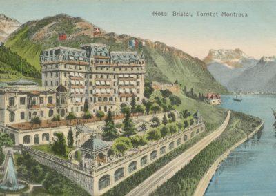 Hôtel Bristol, Territet Montreux