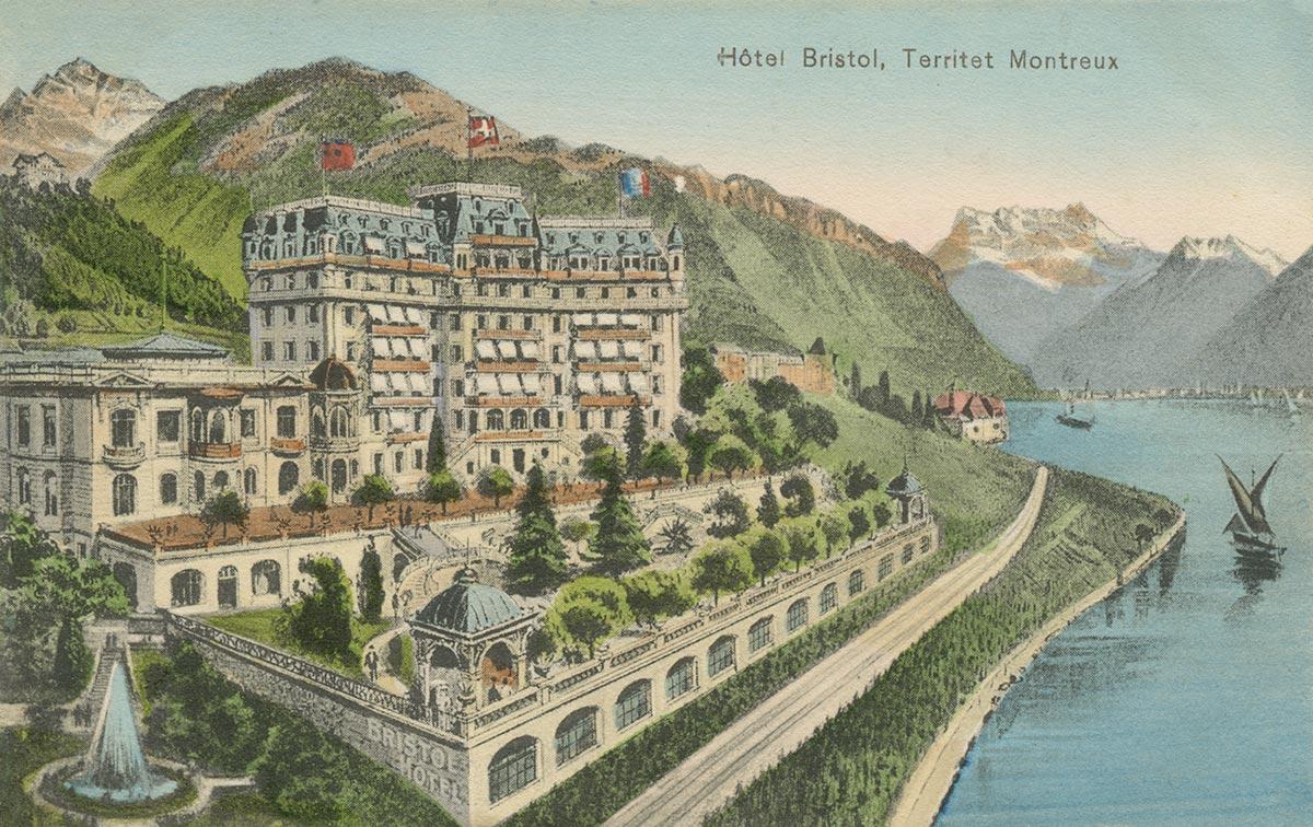 Hôtel Bristol, Territet - Montreux