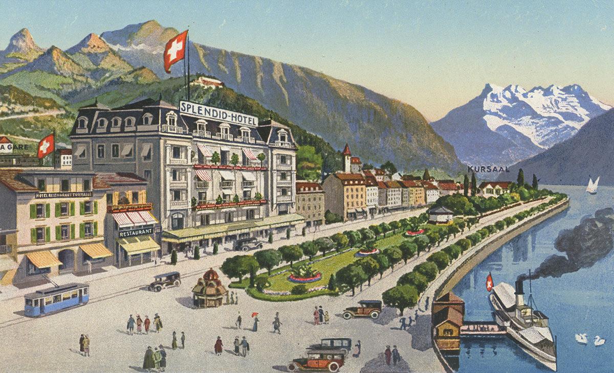 Hôtel Splendid et Tonhalle, Montreux