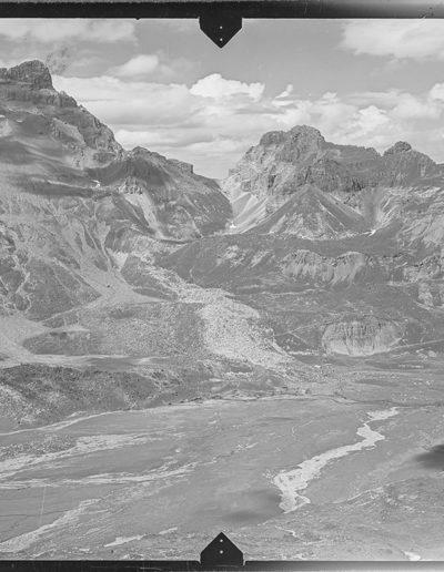 Le plateau de Salanfe en 1928. © Office fédéral de topographie swisstopo