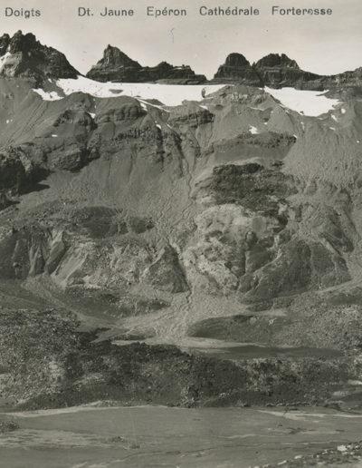 Les Dents du Midi, Salanfe, vers 1940