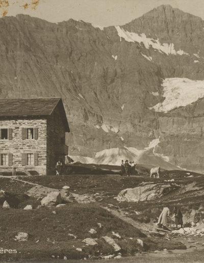 Salanfe et Tour Sallières, septembre 1921