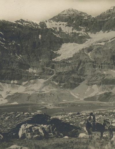 Salanfe. La Tour Sallières, vers 1925