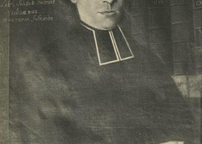 Champéry - L'abbé Jean-Maurice Clément, né en 1736, décédé en 1810. © Fonds Boissonnas, Bibliothèque de Genève