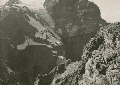 Dents du Midi - Cime de l'Est, vue de Gagnerie. © Fonds Boissonnas, Bibliothèque de Genève