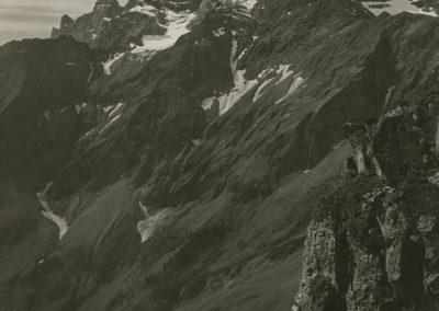 Dents du Midi - Cime de l'Est, vue de la Valerette. © Fonds Boissonnas, Bibliothèque de Genève