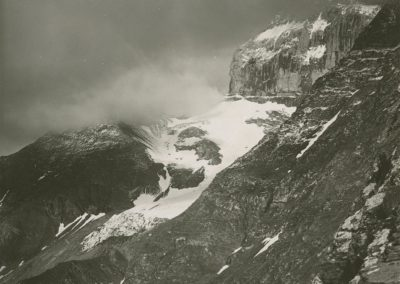 Dents du Midi - Glacier de Chalin. © Fonds Boissonnas, Bibliothèque de Genève