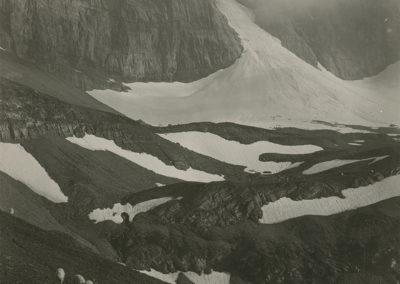 Dents du Midi - Glacier de Soix. © Fonds Boissonnas, Bibliothèque de Genève