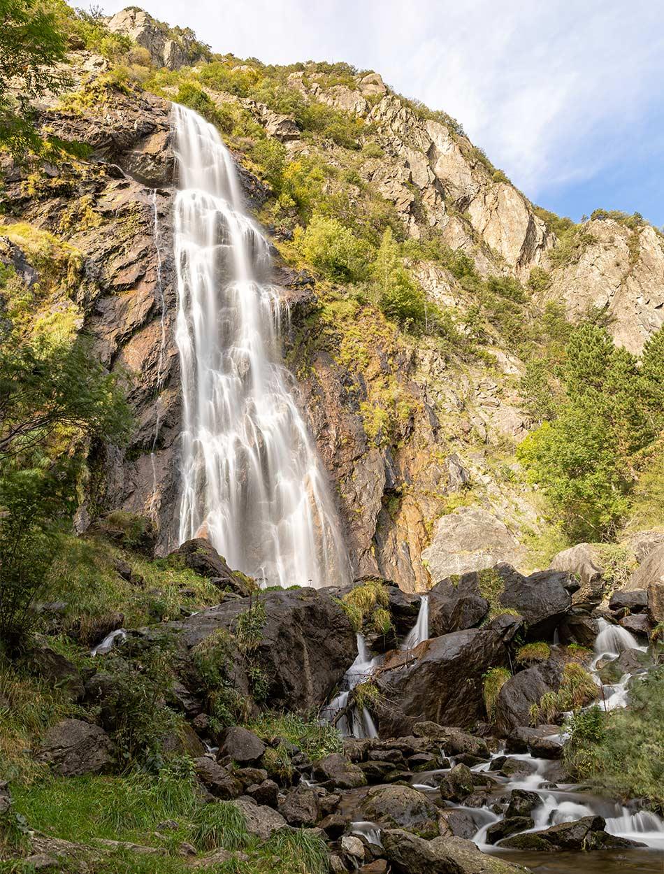 La cascade de la Pissevache. © Fabrice Ducrest