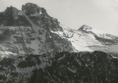Vallée du Rhône - Dents du Midi, vue de la Suche. © Fonds Boissonnas, Bibliothèque de Genève