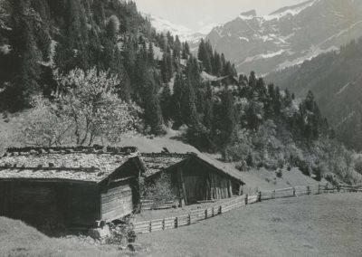 Aux environs de Champéry, vers 1920. © Fonds Boissonnas, Bibliothèque de Genève