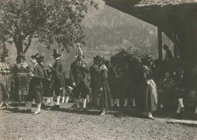 Champéry, vers 1920. © Fonds Boissonnas, Bibliothèque de Genève