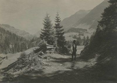 Champéry - Environs - Chaux de Barmaz, vers 1920. © Fonds Boissonnas, Bibliothèque de Genève