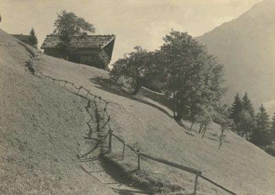 Champéry - La Pallaz, vers 1920. © Fonds Boissonnas, Bibliothèque de Genève