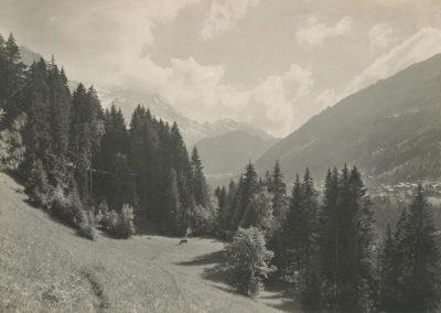 Champéry - Sur Chettet, vers 1920. © Fonds Boissonnas, Bibliothèque de Genève