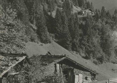 Champéry - aux Rives, vers 1920. © Fonds Boissonnas, Bibliothèque de Genève