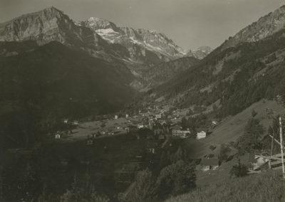 Champéry vu de la Pallaz, vers 1920. © Fonds Boissonnas, Bibliothèque de Genève