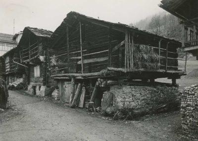 Les Marécottes, vers 1920. © Fonds Boissonnas, Bibliothèque de Genève