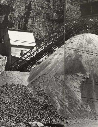 Panorama du chantier au vallon de Van, vue aval. © Alpiq