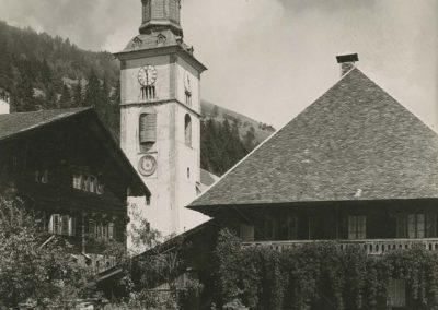 Val d'Illiez, vers 1920. © Fonds Boissonnas, Bibliothèque de Genève